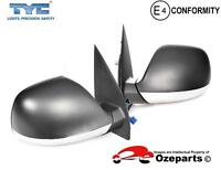 Pair of LH+RH Electric Door Mirror For Volkswagon VW Amarok 2010~2013 (Chrome)
