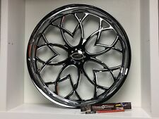 "09 up Harley Davidson 26"" front Wheel Custom Chrome Wheel Style 115c"