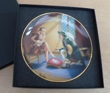 IF THE SHOE FITS FRANKLIN MINT CINDERELLA COLLECTION FINE PORCELAIN PLATE BOXED