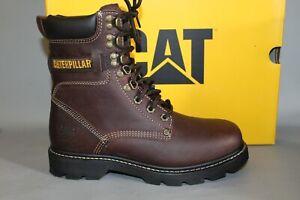 "Men's CAT Indiana #P71866 Size 8 Medium 8"" Soft Toe Work Boot"