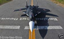 SkyFlight LX 59.1in RC SU47 Twin 2.76 Inches EDF Jet Plane KIT W/O Radio Battery