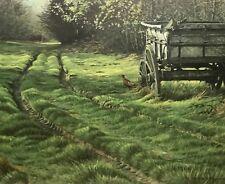 "Superb Framed S/N ROBERT BATEMAN LE Print ""Country Lane Pheasant"""