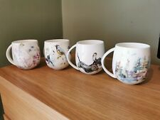 More details for voyage maison bone china cups x4. catch, springflight, caledonian, hedgerow