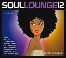 Soul Lounge 12 (Ola onabules Soul Town, DJ autono & Gary Hudgins) 3 CD NUOVO