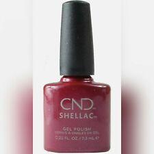 CND Shellac Esmalte de uñas de gel, Ruby Ritz - 7.3ml