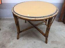 Tavolo Da Esterno Midollino Bambu