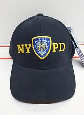 Licensed NYPD Cap Hat - New York Police Department Cap Hat Embroidered Patch
