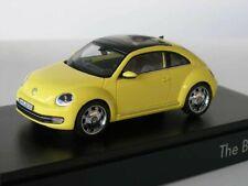 + VOLKSWAGEN VW Beetle  in 1:43 von Schuco  *** gelb ***  NEU  445560