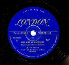 GRACIE FIELDS on 1948 London 342 - Blue Bird of Happiness / Green-Up Time