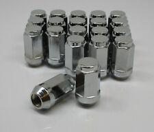 "1/2""x20 Chrome Wheel Nuts x 20 Lug Nut, Acorn, Jeep, Dodge, Ford Falcon Fairmont"