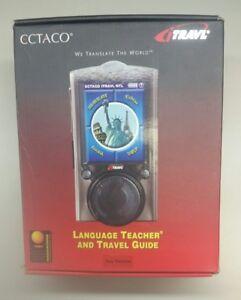 Ectaco iTravl TL-6 Handheld Electronic Language Teacher and Travel Guide Korean