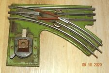 Prewar LIONEL 021 MANUAL RIGHT-HAND SWITCH, 0 Gauge (Lighted)