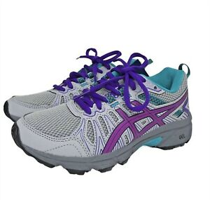 ASICS Kids Gel-Venture 7 Running Sneakers Lace up Cushioned footbed Shoes size 1