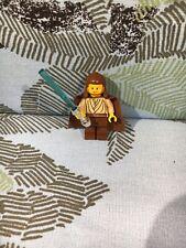 Lego Star Wars Qui Gon Jinn Figure - Minifig - Used