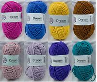 Dream Knitting Yarn - 50 gm ball - buy 1, get 1 free