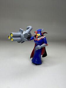 "Toy Story 2 Disney Pixar Evil Emperor Zurg Gun Mini Figure PVC Cake Topper 3.5"""