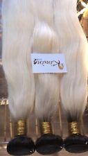 "Peruvian/ Brazilian Blonde 1B/613 Hair Bundles 16"",18"",18"""