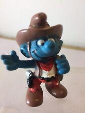 Smurfs Vintage Cowboy Smurf