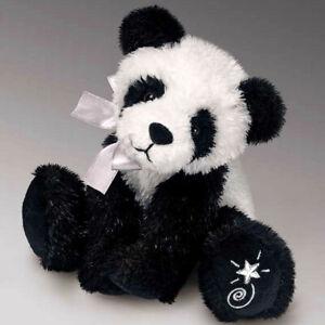 Shining Stars Panda Bear Plush Soft Toy Russ Berrie Collectible New w/ Tags