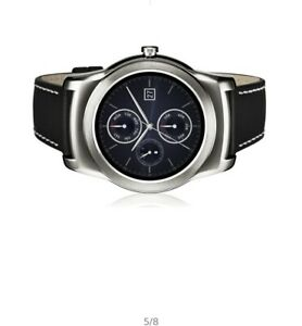 LG Watch Urbane (W150) 46mm Stainless Steel Case Black Classic Buckle - (LGW150)