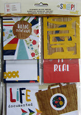 Simple Stories  [LIFE DOCUMENTED - DAY TO DAY]  Snap Pack Cards -  Save 55%