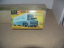 REVELL HO SCALE MODEL OF A GLOBAL VAN LINES TRACTOR & TRAILER, SEALED PARTS BAG,