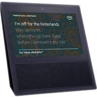 "Amazon Echo Show G1 Black 7"" LCD Smart Home Alexa Assistant Bluetooth Speaker"