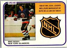 MIKE BOSSY 1981-82 O-PEE-CHEE #382 EXMT (25% OFF)#