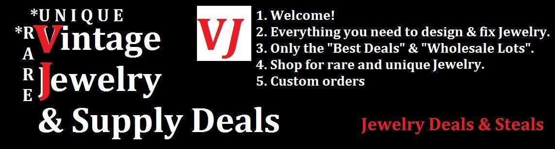 Vintage Jewelry Supply Deals