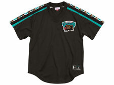 Vancouver Grizzlies Mitchell and Ness Winning Team Black Mesh V-Neck L
