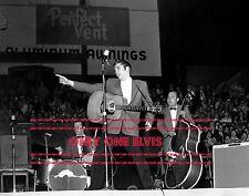 ELVIS PRESLEY Live in LOUISVILLE Kentucky November 25 1956 Photo in Concert 02