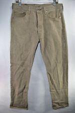 Levi's 501 xx 501xx Mens Jeans Straight Size 34x32 Light Tan Khaki Meas. 32x30