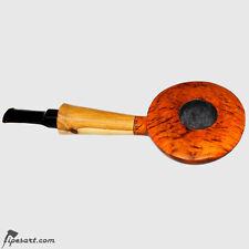 STUNNING SMOOTH DISCUS SMOKING PIPE BY GERMAN MASETR BIER-TOBACCO PIPE