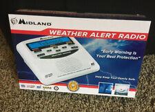 Midland Wr120B/Wr120Ez Noaa Emergency Weather Alert Radio (With Owner Manuel).