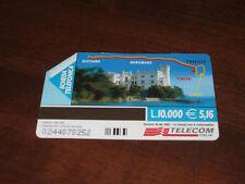 SCHEDA TELEFONICA TELECOM 1°MARATONA D'EUROPA 7 MAGGIO 2000