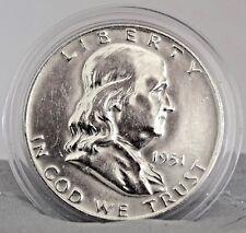 1951 FRANKLIN HALF DOLLAR EF COLLECTIBLE US COINS MONEY GIFT IDEA (1948-63) X1