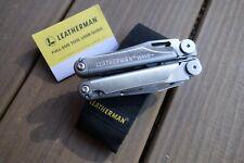 LEATHERMAN WAVE PLUS + 18 Tool SS Multi-Tool St w/ Nylon Sheath  and FREE gift