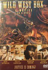 Wild West Box: 4 Movies (DVD, 2-Disc Set) Telly Savalas, Burt Reynolds BRAND NEW