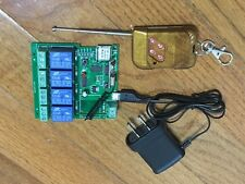 4 Car WiFi Garage Door Opener + Remote. Gate opener. Alexa. Google home. Nest.