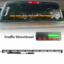 "50"" LED Traffic Adviser Emergency Warning Flash Response Strobe Light Bar Amber"