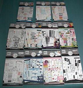 LOT of 11 - Mambi Happy Planner Sticker Books - BRAND NEW! NO DUPLICATES!