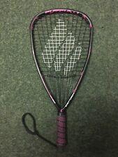 New listing Demo Pink Ektelon Toron 150G Limited Edition Racquetball Racquet 3 5/8 Grip