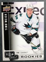 2017 Upper Deck UD National Convention Top Shelf Rookies #TS8 Timo Meier RC