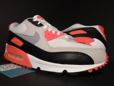 2010 NIKE AIR MAX 90 WHITE CEMENT GREY INFRARED BLACK OG 1 ATMOS 325018-107 10.5
