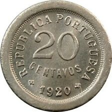 Ek // 20 Centavos Portugal 1920 UNC