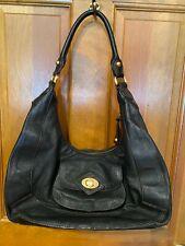BCBGirls Black Leather Pebble Bag P