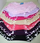 Women Bamboo Fibre Leopard Trim Underpants Panties Undies Briefs Plus size16-20