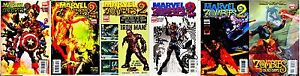 ROBERT KIRKMAN MARVEL ZOMBIES 2 #1-5 COMPLETE SET! 1 2 3 4 5+ DEAD DAYS ONE-SHOT