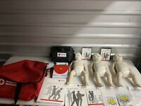 American Red Cross Prestan Infant CPR Manikins - 3 Pack Medium Skin