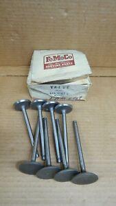 NOS 1956 FORD THUNDERBIRD 292 312 INTAKE VALVES EAM 6507 F .003 OVERSIZE STEM